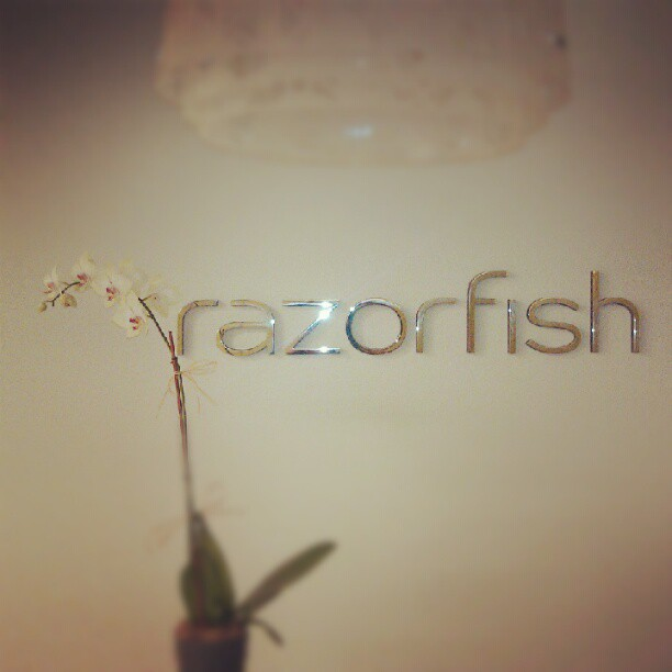 So excited to be at Razorfish!