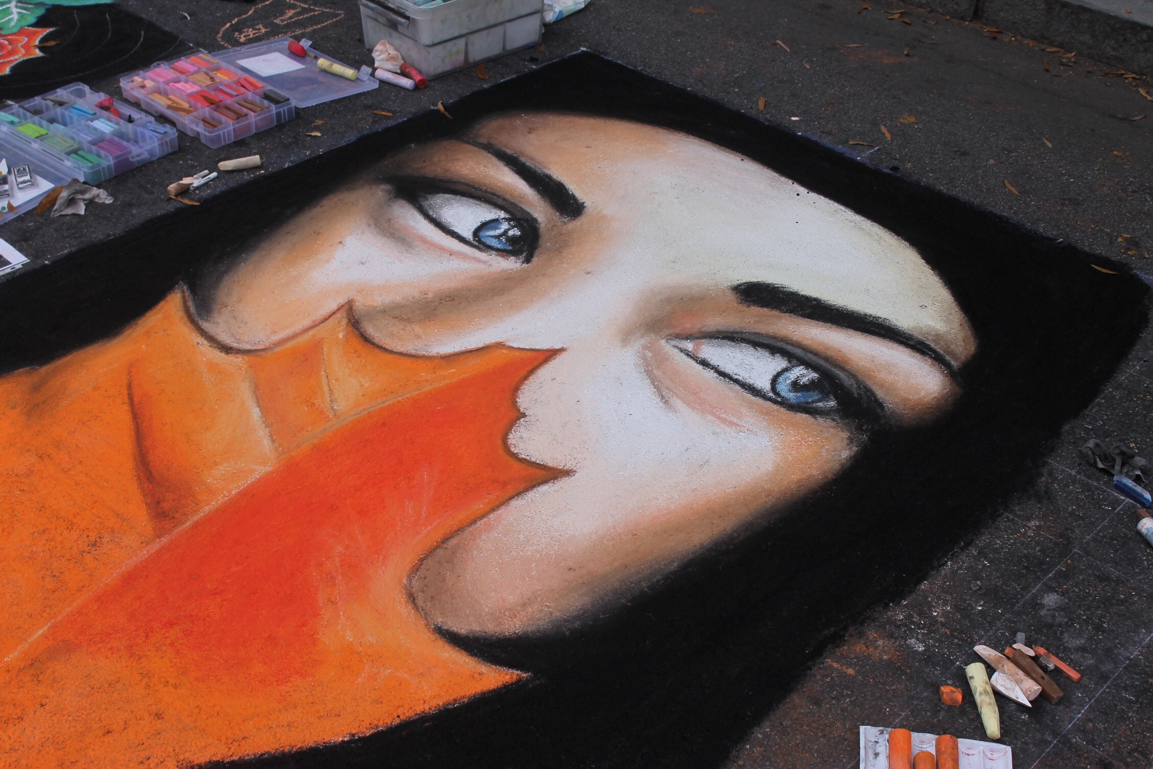Pop Up Chalk Art Festival