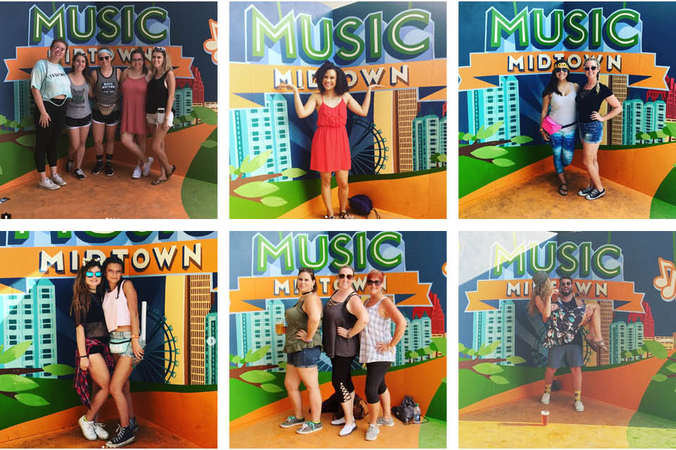 Music Midtown Backdrop
