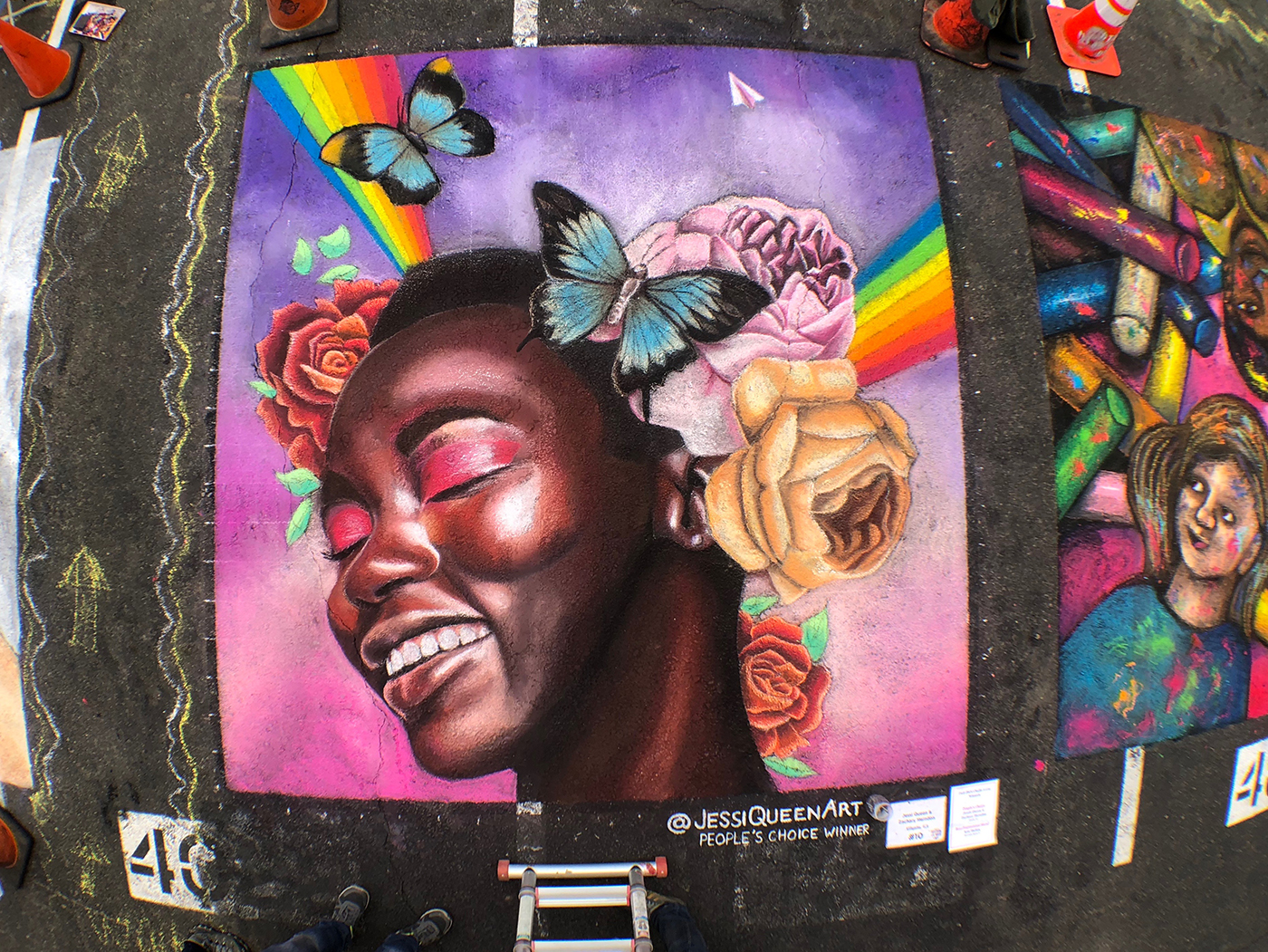 jessi-queen-chalk-art-tempe-2019