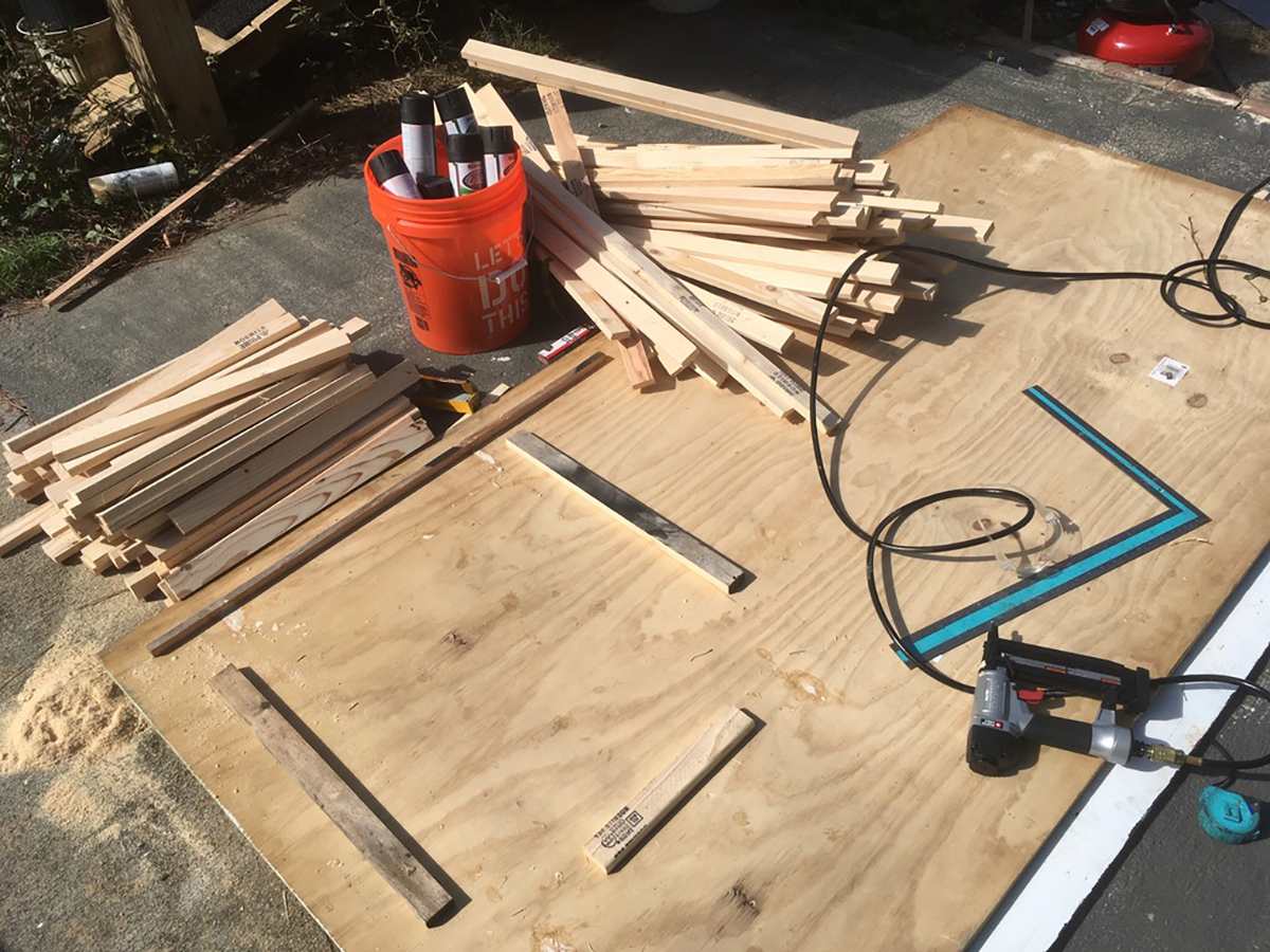 Nail Guns and Wood